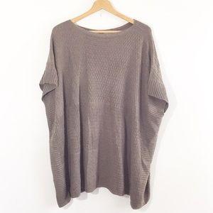 LOFT Sweater Poncho Cape
